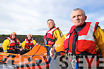 Ballybunion sea and cliff rescue crew hho performed a rescue of two boys aged 7 and 10 on Sunday from left: Emmet Lynch, Paul O'Connor, Coxswain, Gary Kavanagh and Jim Enright, Coxswain.