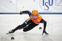 SHORT TRACK: TORINO: 14-01-2017, Palavela, ISU European Short Track Speed Skating Championships, Quarterfinals 500m Men, Sjinkie Knegt (NED), ©photo Martin de Jong