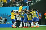 Brazil team group, <br /> JUNE 12, 2014 - Football /Soccer : <br /> 2014 FIFA World Cup Brazil <br /> Group Match -Group A- <br /> between Brazil 3-1 Croatia <br /> at Arena de Sao Paulo, Sao Paulo, Brazil. <br /> (Photo by YUTAKA/AFLO SPORT)