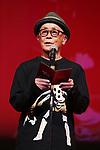 Ryuichi Hiroki, November 05, 2019 - The 32nd Tokyo International Film Festival, award ceremony, in Tokyo, Japan on November 05, 2019. (Photo by 2019 TIFF/AFLO)