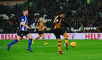 Hull City's Fraizer Campbell scores his side's third goal <br /> <br /> Photographer Chris Vaughan/CameraSport<br /> <br /> The EFL Sky Bet Championship - Hull City v Sheffield Wednesday - Saturday 12th January 2019 - KCOM Stadium - Hull<br /> <br /> World Copyright &copy; 2019 CameraSport. All rights reserved. 43 Linden Ave. Countesthorpe. Leicester. England. LE8 5PG - Tel: +44 (0) 116 277 4147 - admin@camerasport.com - www.camerasport.com