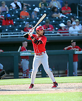 Alex Blandino - Cincinnati Reds 2020 spring training (Bill Mitchell)