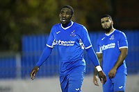 Jonathan Mbamarah of Redbridge during Redbridge vs Clapton, Essex Senior League Football at Oakside Stadium on 14th November 2017