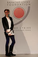 NAPOLI 21/03/2013 MUSEO PLART CERIMONIA DI PREMIAZIONE DELLA .VIII EDIZIONE DEL LUCKY STRIKE TALENTED DESIGNER AWARD ORGANIZZATO DALLA RAYMOND LOEWY  FOUNDATION.NELLA FOTO Alessandra Carosi