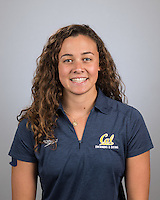 Berkeley, Ca - October 4, 2016: The 2016-2017 Cal Bears Women's Swimming and Diving Team.