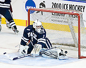 Ryan Rondeau (Yale - 1) - The Boston College Eagles defeated the Yale University Bulldogs 9-7 in the Northeast Regional final on Sunday, March 28, 2010, at the DCU Center in Worcester, Massachusetts.