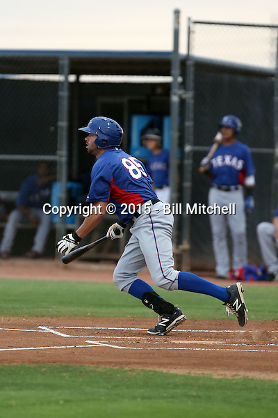 Doug Votolato - Texas Rangers 2015 extended spring training (Bill Mitchell)