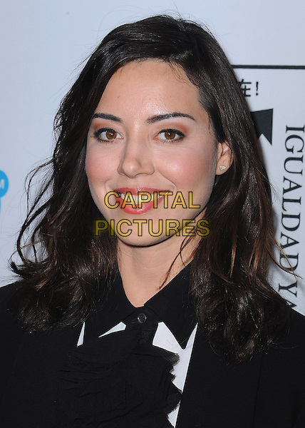 BEVERLY HILLS, CA - NOVEMBER 3:  Aubrey Plaza at the Equality Now &quot;Make Equality Reality&quot; Event at the Montage Hotel on November 3, 2014 in Beverly Hills, California.  <br /> CAP/MPI/PGSK<br /> &copy;PGSK/MediaPunch/Capital Pictures