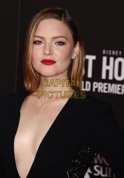 HOLLYWOOD, CA - JANUARY 25: Actress Holliday Grainger arrives at the Premiere Of Disney's 'The Finest Hours' at TCL Chinese Theatre on January 25, 2016 in Hollywood, California.<br /> CAP/ROT/TM<br /> &copy;TM/ROT/Capital Pictures