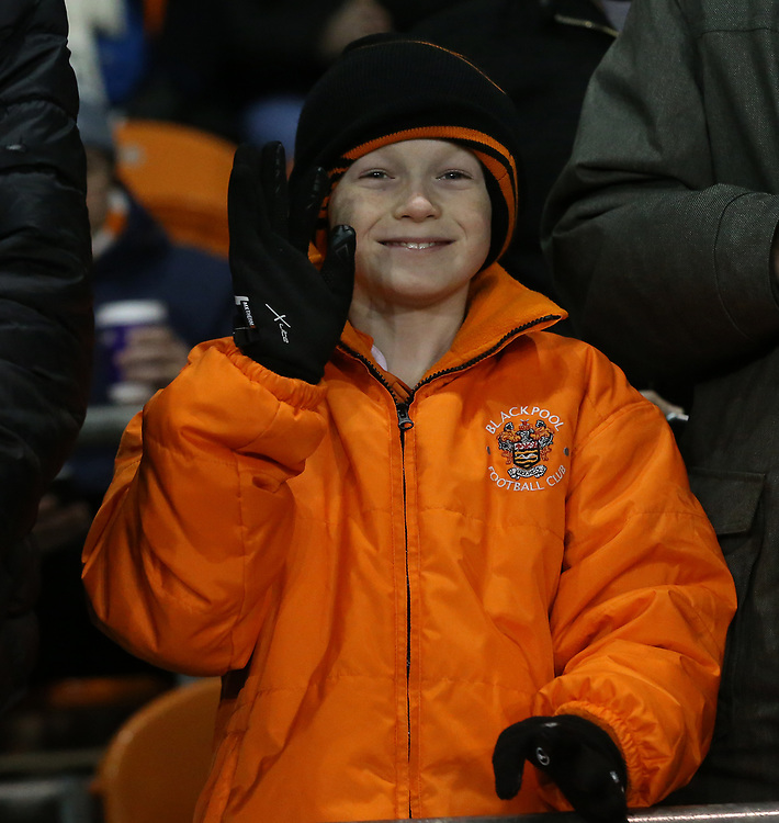 Blackpool fans enjoy the pre-match atmosphere <br /> <br /> Photographer Stephen White/CameraSport<br /> <br /> Emirates FA Cup Third Round - Blackpool v Arsenal - Saturday 5th January 2019 - Bloomfield Road - Blackpool<br />  <br /> World Copyright &copy; 2019 CameraSport. All rights reserved. 43 Linden Ave. Countesthorpe. Leicester. England. LE8 5PG - Tel: +44 (0) 116 277 4147 - admin@camerasport.com - www.camerasport.com