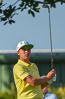 Rickie Fowler (USA) watches his tee shot on 2 during round 3 of the Arnold Palmer Invitational at Bay Hill Golf Club, Bay Hill, Florida. 3/9/2019.<br /> Picture: Golffile | Ken Murray<br /> <br /> <br /> All photo usage must carry mandatory copyright credit (© Golffile | Ken Murray)