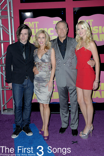 Glen Campbell attends the 11th Annual CMT Awards in Nashville, TN on June 6, 2012.