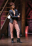 """Syndee Winters during the Q & A for The Rockefeller Foundation and The Gilder Lehrman Institute of American History sponsored High School student #EduHam matinee performance of """"Hamilton"""" at the Richard Rodgers Theatre on 3/15/2017 in New York City."""