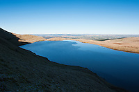 Llyn Y Fan Fawr, Black Mountain, Brecon Beacons national park, Wales