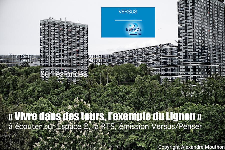 A &eacute;couter sur les ondes: dans l'&eacute;mission Versus/Penser, de la Radio T&eacute;l&eacute;vision Suisse (RTS), sur Espace 2. Emission Versus du 30 septembre 2016.<br /> <br /> http://www.rts.ch/play/radio/versus-penser/audio/versus-penser-tours-33-vivre-dans-des-tours-lexemple-du-lignon?id=8020282<br /> <br /> Lire l'article dans Pages Europe &agrave; la Documentation fran&ccedil;aise:<br /> <br /> http://www.ladocumentationfrancaise.fr/pages-europe/pe000007-politique-urbaine-et-grands-ensembles-l-exemple-genevois-du-lignon-par-alexandre/article