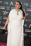 Rossy De Palma attend the 2015 Goya Awards at Auditorium Hotel, Madrid,  Spain. February 07, 2015.(ALTERPHOTOS/)Carlos Dafonte)