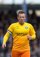Garry Thompson of Wycombe Wanderers during the Sky Bet League 2 match between Portsmouth and Wycombe Wanderers at Fratton Park, Portsmouth, England on 23 April 2016. Photo by Andy Rowland.
