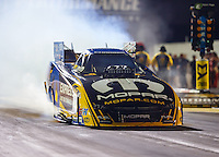 Sep 2, 2016; Clermont, IN, USA; NHRA funny car driver Matt Hagan during qualifying for the US Nationals at Lucas Oil Raceway. Mandatory Credit: Mark J. Rebilas-USA TODAY Sports