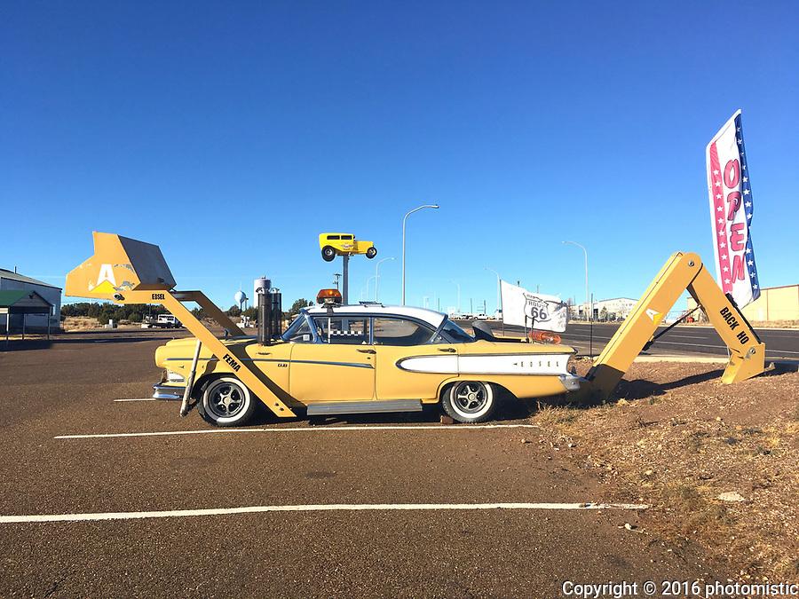 Route 66 through Santa Rosa, New Mexico