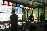 Feralpi Siderurgica - Fase due operai in sala controllo Lonato del Garda 18/05/2020 Feralpi Siderurgica - Second step workers in control room Lonato del Garda 20/05/2020