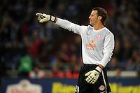FUSSBALL   1. BUNDESLIGA   SAISON 2012/2013   5. SPIELTAG FC Schalke 04 - FSV Mainz 05                               25.09.2012        Torwart Christian Wetklo (FSV Mainz 05)