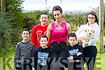 Catherine Wall, Abbeydorney, has lost six and a half stone and is in the final of the Slimming World Woman of the Year Competition, pictured with her children, Joseph, Tommy, Mary Kate, Twins Ciaran and Sean, Missing from photo is son Padraig and husband Pat O'Connor.