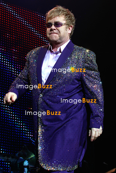 Elton John in concert in Nice at Palais Nikaia..France - Nice, June 22, 2012.
