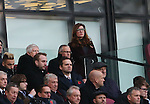 West Ham's Karen Brady watches depsite receiving abuse from the fans during the Premier League match at the London Stadium, London. Picture date November 5th, 2016 Pic David Klein/Sportimage