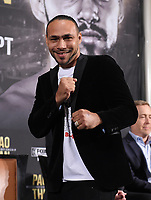 "BEVERLY HILLS - MAY 22: Keith ""One Time"" Thurman attends a press conference in Beverly Hills for the Premier Boxing Champions on FOX Sports Pay-Per-View fight against Manny Pacquiao on July 20 in Las Vegas. (Photo by Frank Micelotta/Fox Sports/PictureGroup)"