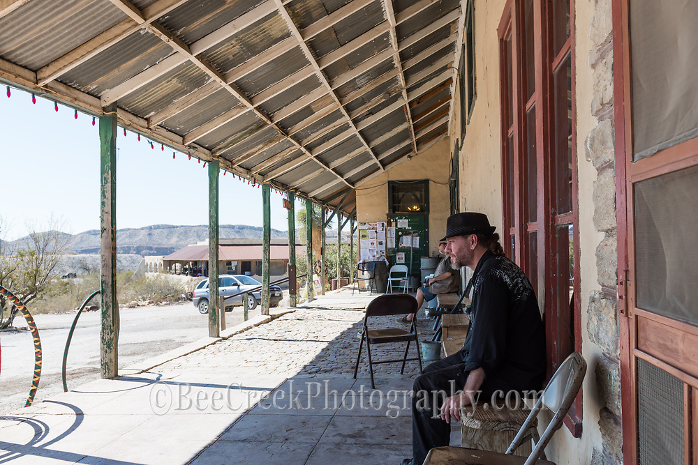 Another image of the Front Porch in Terlingua