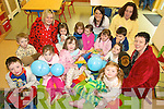 PYJAMAS: Children and staff at Castlemaine Childcare Centre enjoying the Make a Wish Foundation Pyjama Day on Friday.