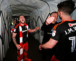 Billy Sharp of Sheffield Utd celebrates during the English League One match at Sixfields Stadium Stadium, Northampton. Picture date: April 8th 2017. Pic credit should read: Simon Bellis/Sportimage
