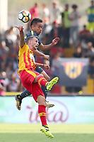 Fabio Lucioni Benevento e Yuto Nagatomo Inter<br /> Benevento 01-10-2017  Stadio Ciro Vigorito<br /> Football Campionato Serie A 2017/2018. <br /> Benevento - Inter<br /> Foto Cesare Purini / Insidefoto