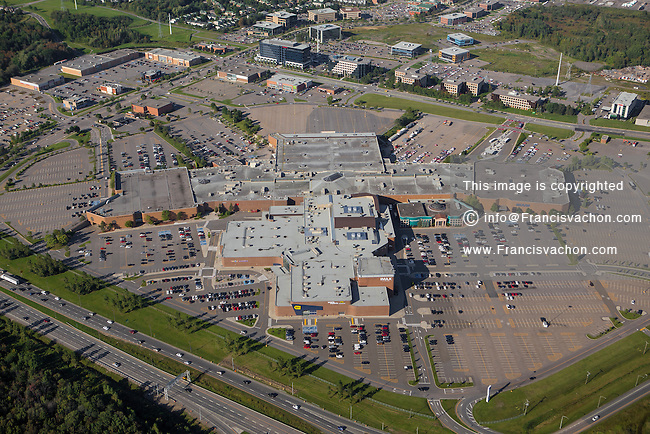 Les Galeries de la Capitale shopping mall is pictured in this aerial photo in Quebec city Thursday September 3, 2015. Most visited mall largest mall in the city, Les Galeries de la Capitale has 280 stores, 35 restaurants and the IMAX theater with the largest screen in Canada.