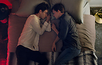 BOY ERASED (2018)<br /> Theodore Pellerin stars as &ldquo;Xavier&rdquo; and Lucas Hedges stars as &ldquo;Jared&rdquo;<br /> *Filmstill - Editorial Use Only*<br /> CAP/FB<br /> Image supplied by Capital Pictures
