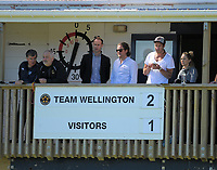 The scoreboard finally shows the correct score during the ISPS Handa Premiership football Charity Cup match between Team Wellington and Auckland City FC at David Farrington Park in Wellington, New Zealand on Sunday, 15 October 2017. Photo: Dave Lintott / lintottphoto.co.nz