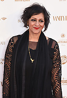 Meera Syal at The Old Vic Bicentenary Ball held at The Old Vic, The Cut, Lambeth, London, England, UK on Sunday13 May 2018.<br /> CAP/MV<br /> &copy;Matilda Vee/Capital Pictures