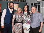 Karen Devitt celebrating her 30th birthday and recent engagement with Paul Heatherington and her parents John Ann Devitt in Barocco in the Westcourt hotel. Photo:Colin Bell/pressphotos.ie