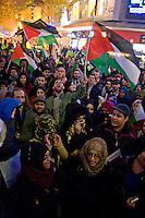 Gaza Demo Waterstones Bull ring Birmingham 16 Nov 2012