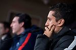 PSG Marcos Aoás 'Marquinhos' during press conference the day before Champions League match between Real Madrid and PSG at Santiago Bernabeu Stadium in Madrid , Spain. February 13, 2018. (ALTERPHOTOS/Borja B.Hojas)