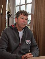 21-02-2014, Netherlands, Eemnes,  Michiel Schapers(NED), Coach<br /> Photo: Henk Koster