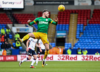 Bolton Wanderers' Alan Browne heads clear  <br /> <br /> Photographer Andrew Kearns/CameraSport<br /> <br /> The EFL Sky Bet Championship - Bolton Wanderers v Preston North End - Saturday 9th February 2019 - University of Bolton Stadium - Bolton<br /> <br /> World Copyright © 2019 CameraSport. All rights reserved. 43 Linden Ave. Countesthorpe. Leicester. England. LE8 5PG - Tel: +44 (0) 116 277 4147 - admin@camerasport.com - www.camerasport.com
