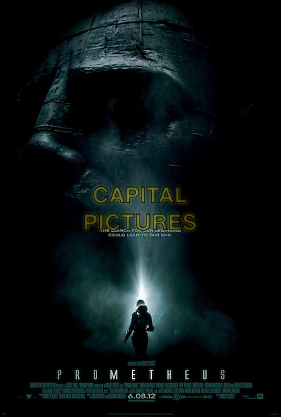 POSTER ART.in Prometheus.*Filmstill - Editorial Use Only*.CAP/FB.Supplied by Capital Pictures.