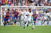 Swansea City's Wayne Routledge in action             <br /> <br /> <br /> Photographer Craig Mercer/CameraSport<br /> <br /> The Premier League - Crystal Palace v Swansea City - Saturday 26th August 2017 - Selhurst Park - London<br /> <br /> World Copyright &copy; 2017 CameraSport. All rights reserved. 43 Linden Ave. Countesthorpe. Leicester. England. LE8 5PG - Tel: +44 (0) 116 277 4147 - admin@camerasport.com - www.camerasport.com