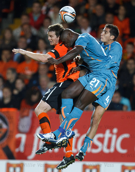 Dundee Utd captain Jon Daly loses out to AEK duo Papa Bouba Diop and Manolas Komstantinos