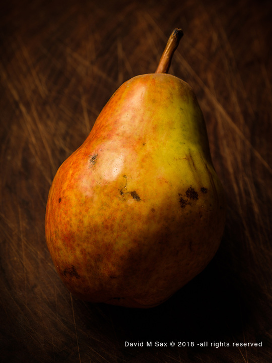 12.14.17 - Pear With Character....
