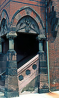 Frank Furness: Hockley House--Entrance.  Photo '76.