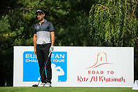 Moritz Lampert (GER) during the third round of the Kazakhstan Open presented by ERG played at Zhailjau Golf Resort, Almaty, Kazakhstan. 15/09/2018<br /> Picture: Golffile | Phil Inglis<br /> <br /> All photo usage must carry mandatory copyright credit (&copy; Golffile | Phil Inglis)