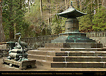 Okusha Hoto Bronze Mausoleum Pagoda for Tokugawa Ieyasu Bronze Vase Incense Burner Crane Candlestick Funerary Offerings from Korean King Okusha Inner Shrine Nikko Toshogu Shrine Nikko Japan