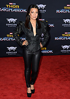 Ming-Na Wen at the premiere for &quot;Thor: Ragnarok&quot; at the El Capitan Theatre, Los Angeles, USA 10 October  2017<br /> Picture: Paul Smith/Featureflash/SilverHub 0208 004 5359 sales@silverhubmedia.com